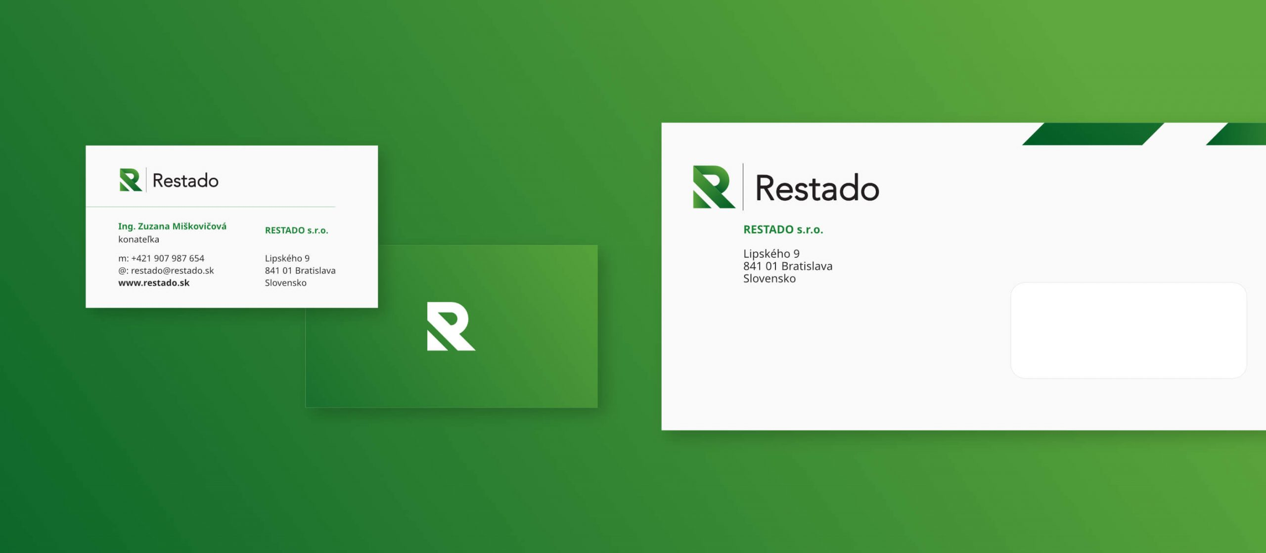 stationery design and branding for restado by michael maleek djibril