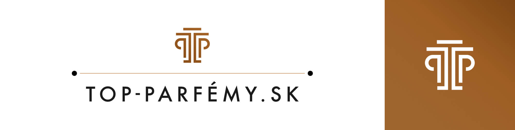 top-parfemy.sk logo case study by michael maleek djibril